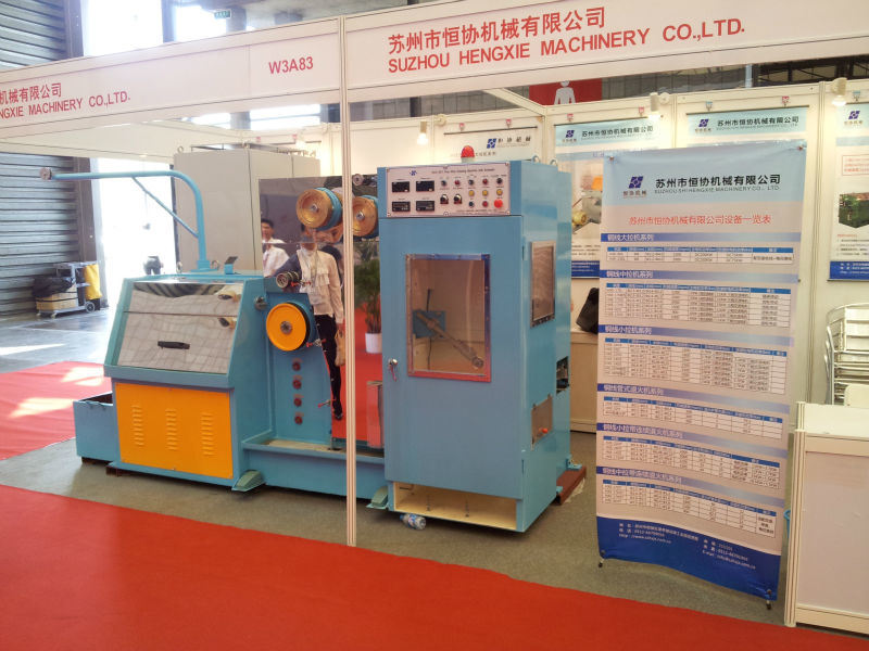 (HXE-14DT) Copper Fine Wire Drawing Machine with Annealing