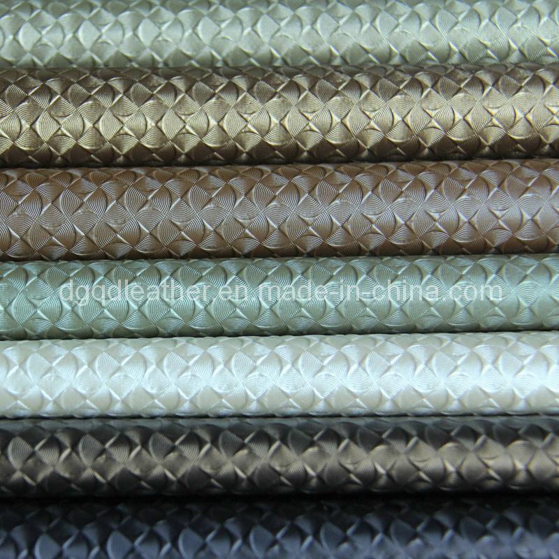 Decoration Furniture PVC Leather (QDL-FV003)