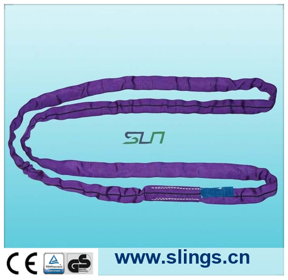 2017 Endless Violet 1t*12m Round Sling with Ce/GS