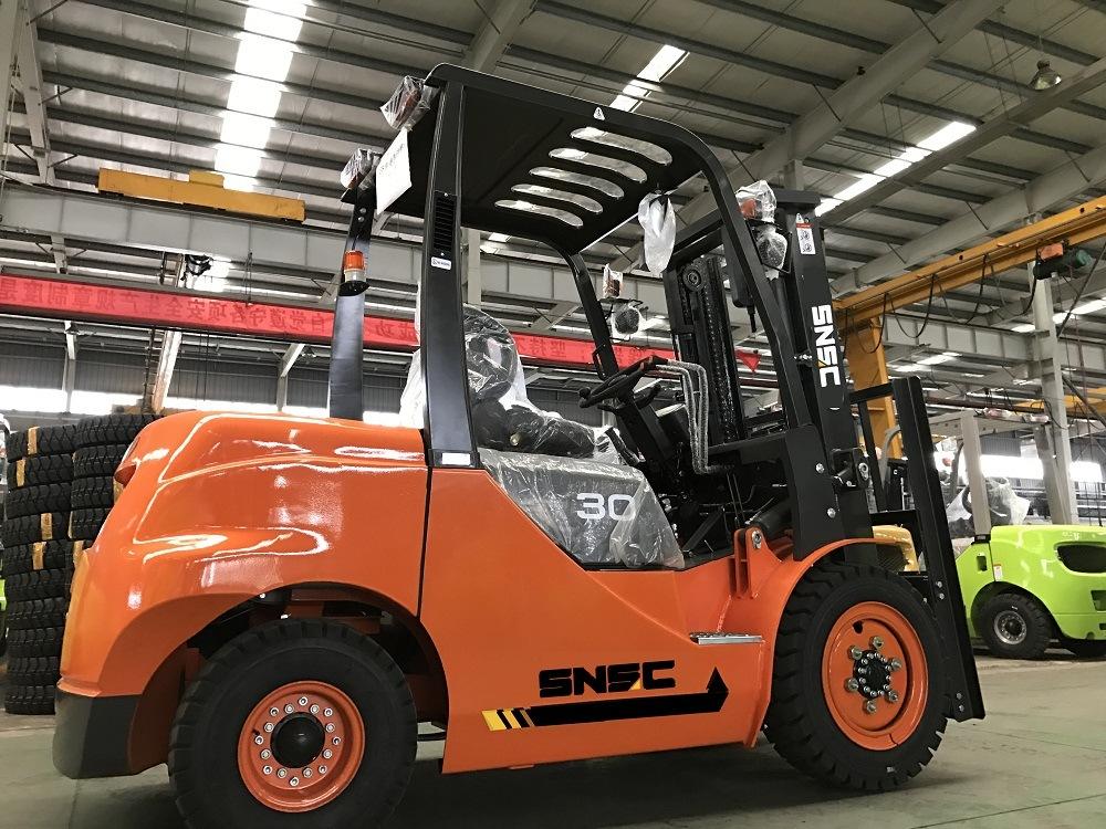 Snsc 3 Ton Diesel Forklift Price with Japanese Isuzu Engine