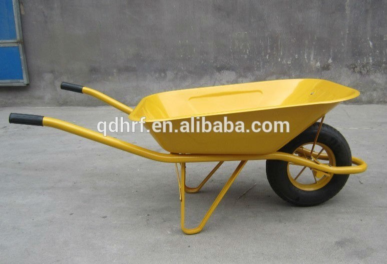 Garden Hand Barrow Cheap Tool Wagon Cart with Air Wheel Wb6400