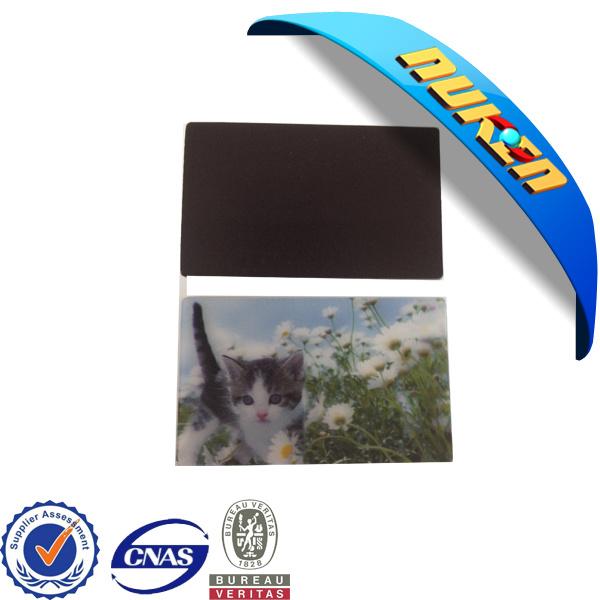 Promotional Gift 3D Lenticular Fridge Magnet