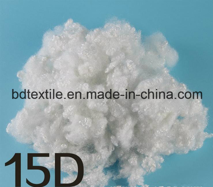High Quality of Recycled Hollow Polyester Staple Fiber for 15D
