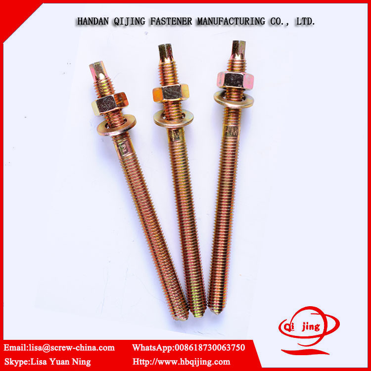Chemical Stud Bolt/Roof Bolt/ Fasteners Manufacture M8