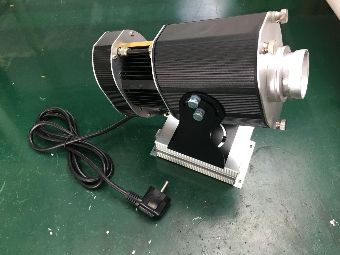 80W 10000 Lumens Single Static Indoor Gobo Projector for Wedding