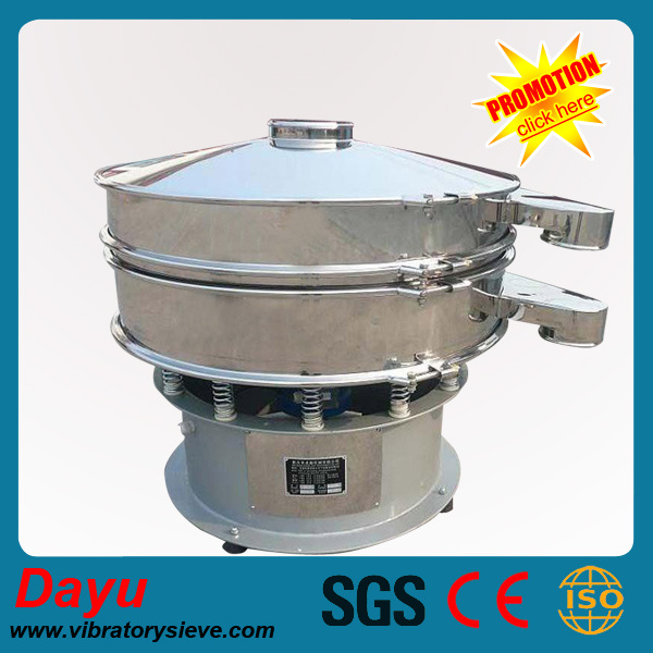 High Efficiency Rotary Vibrating Sieving Machine for Silicium Carbide