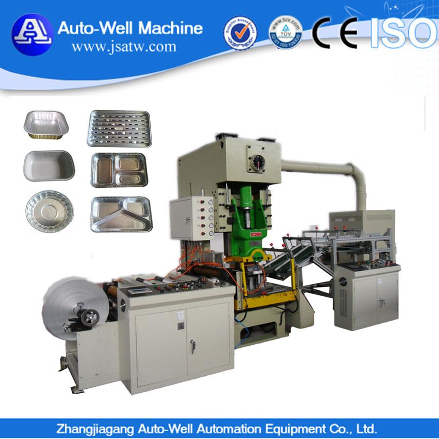 Automatic Aluminum Foil Container Machine