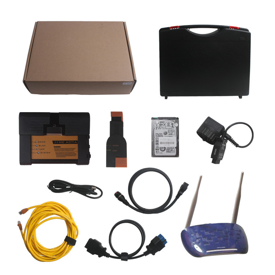 2014.5 Icom A2+B+C Diagnostic for BMW & Programming Tool with WiFi