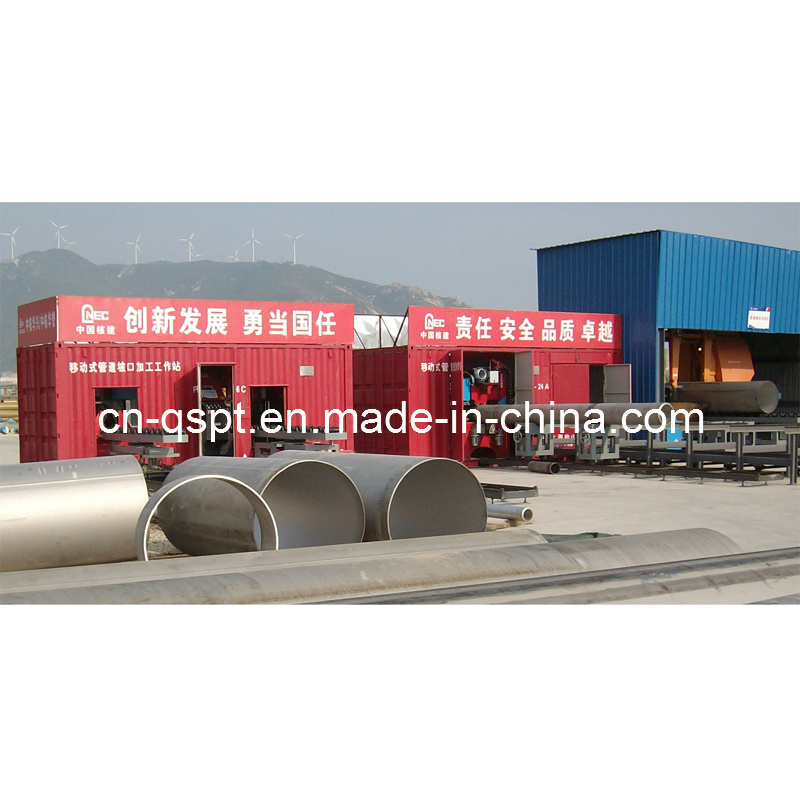 Transportable Pipe Fabrication Line; Automatic Pipe Spool Fabrication Line