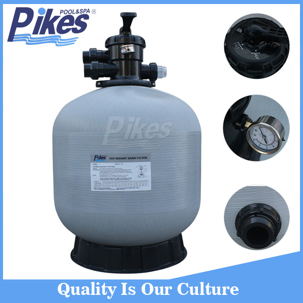 Fiberglass Reinforced Plastic Side Mount Sand Filter