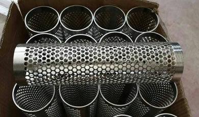 Perforated Metal Tubes/Perforated Metal Mesh Filter Tubes