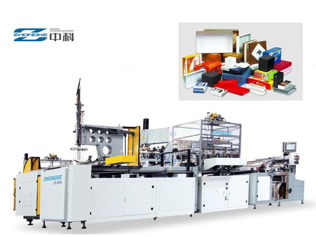 Hot Sell Box Packing Machine (ZK-660AN)