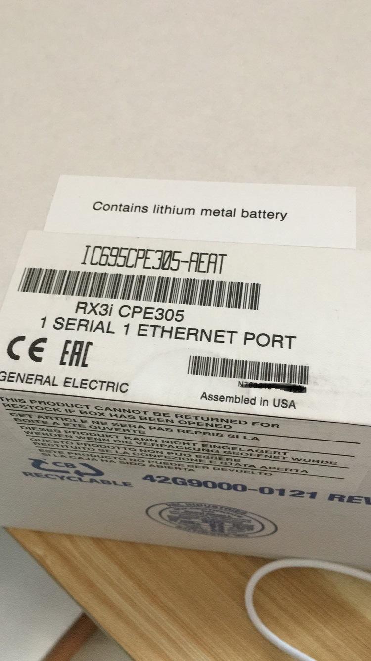 Ge PLC IC695CPE305