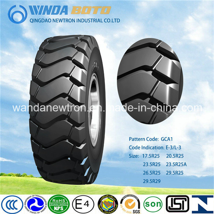 OTR Tire, off-The-Road Tire, Radial Tyre Gca1 26.5r25