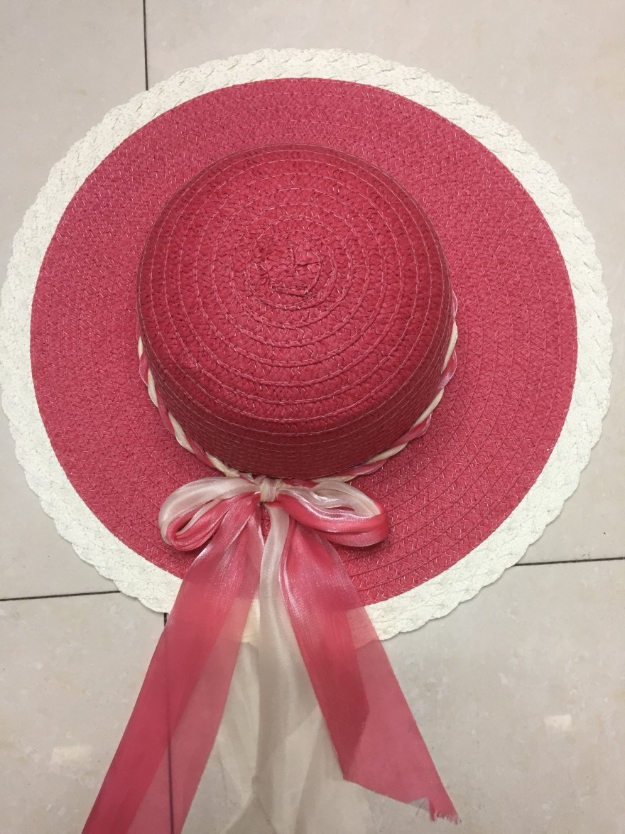 Hot Selling Promotional Sun Straw Paper Cap Hat GS122306
