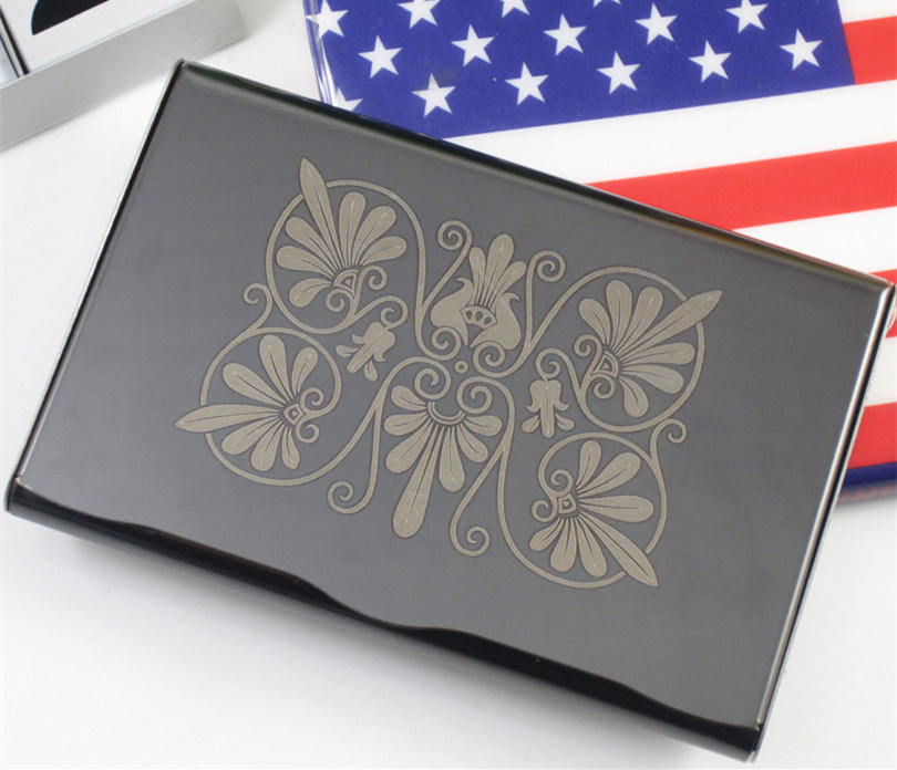Amazing Titanium Business Card Holder Contemporary - Business Card ...