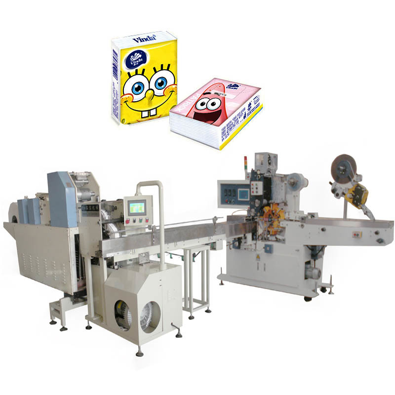 Hand Towel Plastic Bag Making Packaging Machine