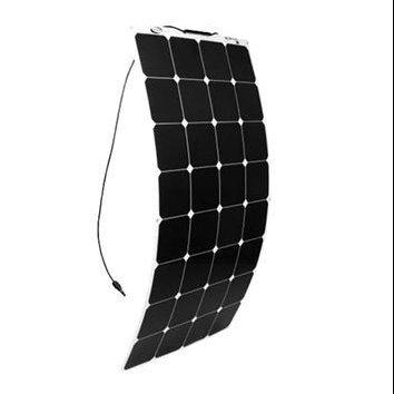 Customized Designed Home Solar Systems Semi Flexible Solar Panel 100W