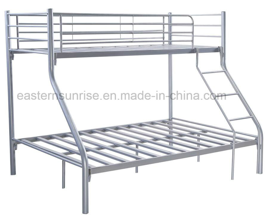 Cheap Price Kd Steel Metal Tubes Triple Bunk Bed