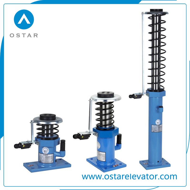 High Speed Elevator Used Hydraulic Oil Buffer Lift Spare Parts (OS210-B)
