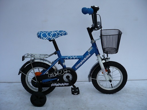 "12"" Steel Frame Kids Bike (1266)"