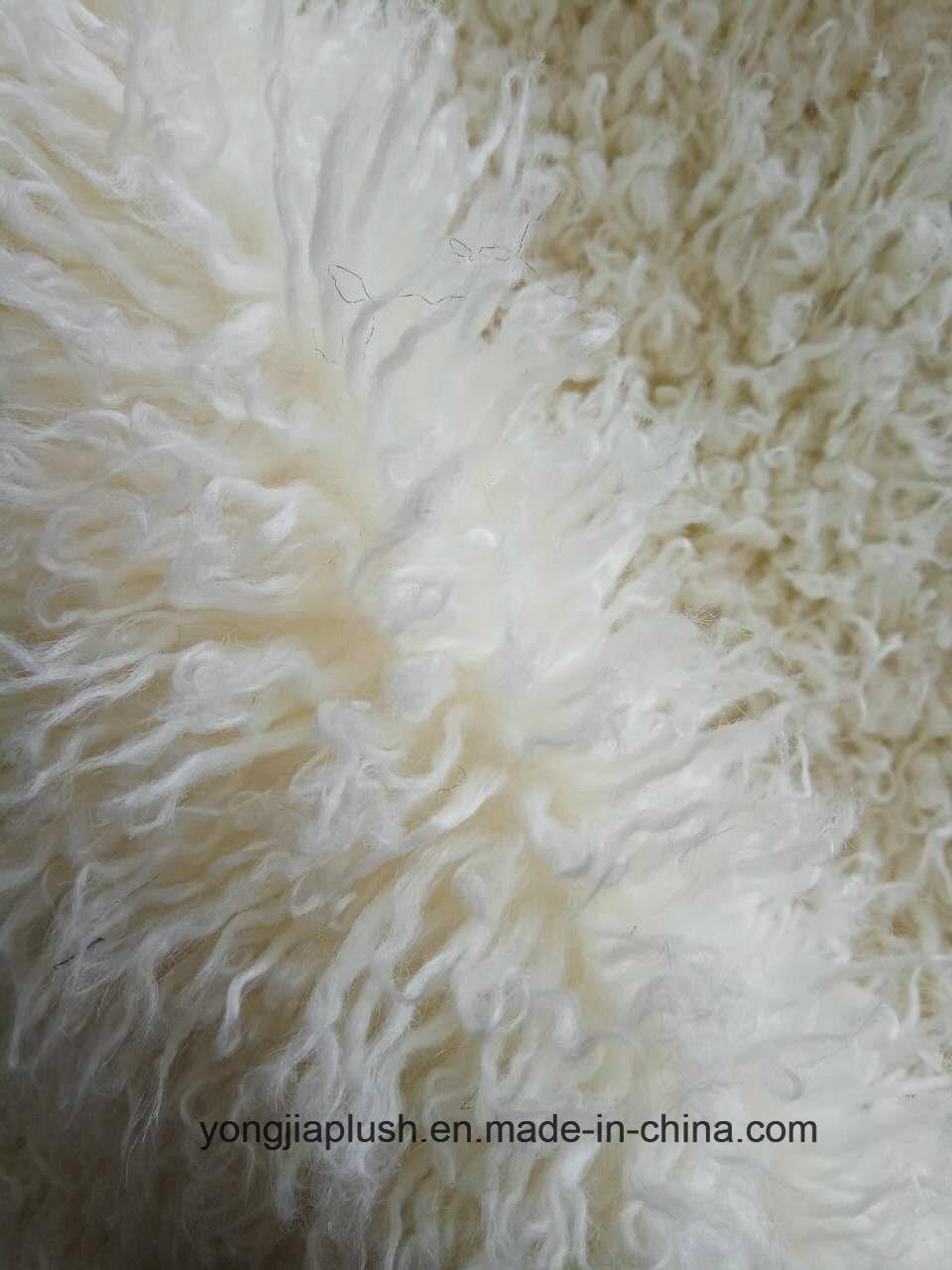 Beige Decatize Faux Fur