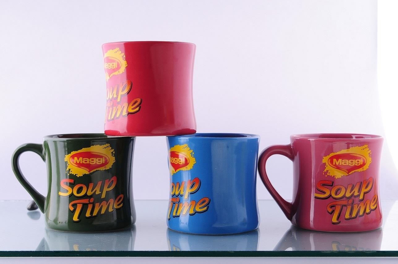 Ceramic Waisted Mug