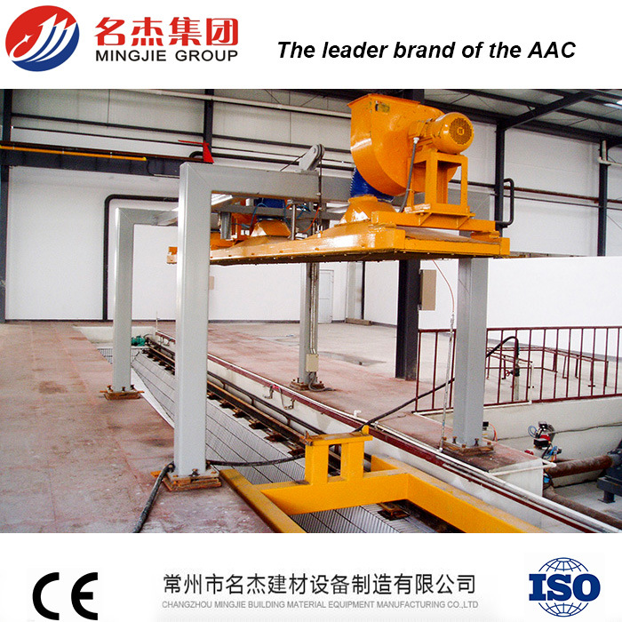 Autoclaved Aerated Concrete AAC Fly Ash Brick Manufacturing Machine