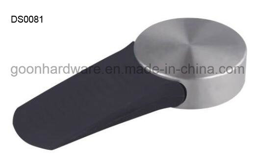 Zinc Door Stopper/Door Wedge with Rubber Ds0081