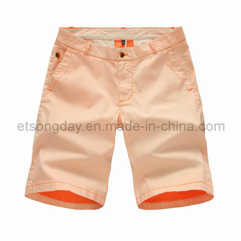 Hot Sale Cotton Spandex Men′s Shorts (44008)