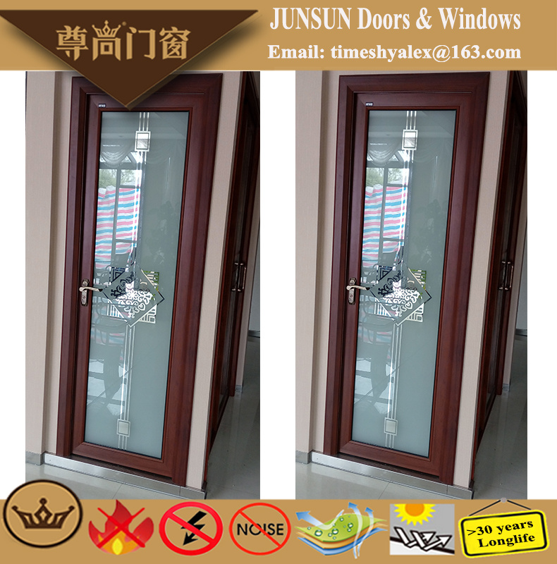 New Product Decorative Aluminium Bathroom Doors with Good Price