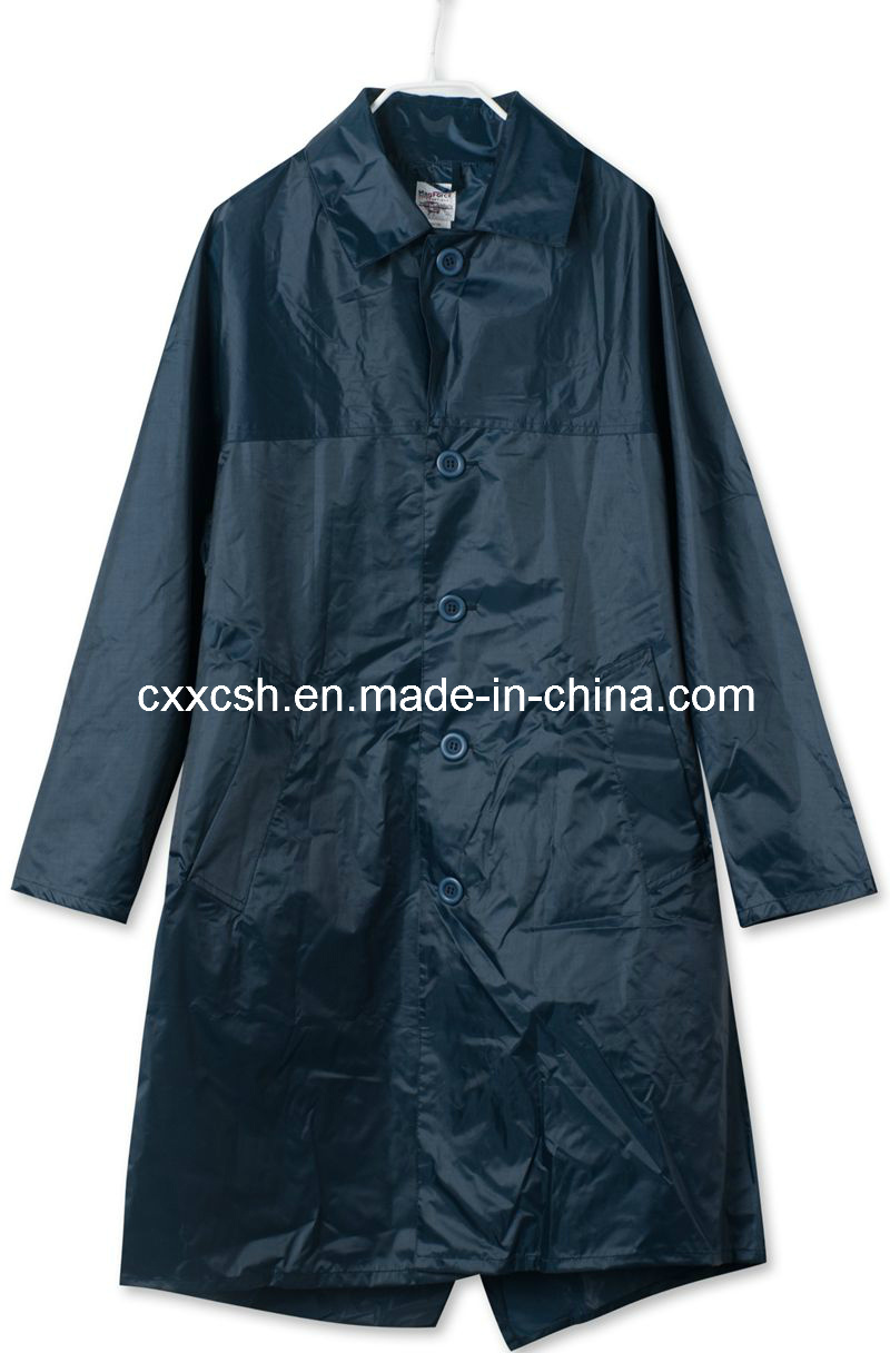 Army Long Raincoat