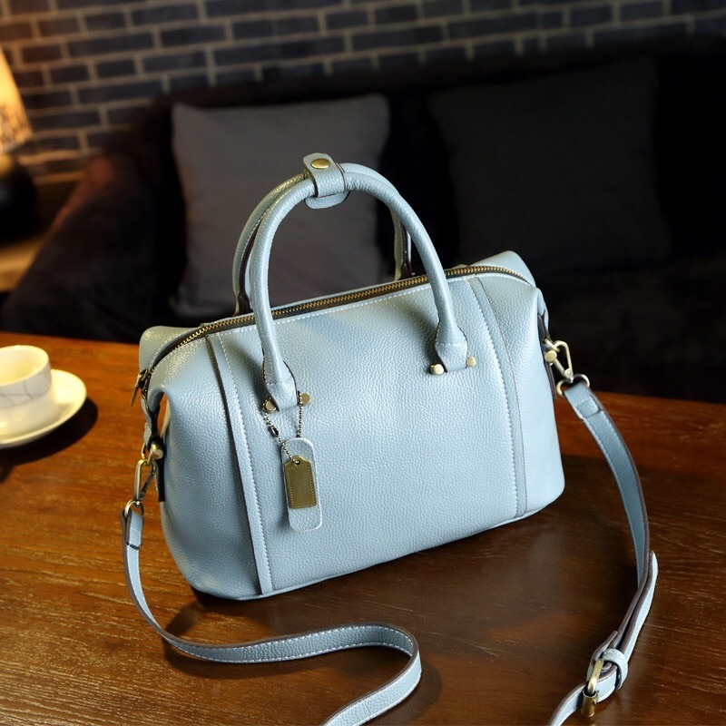 Hot Sale Ladies 2017 Fashion Boston European Style PU Handbags