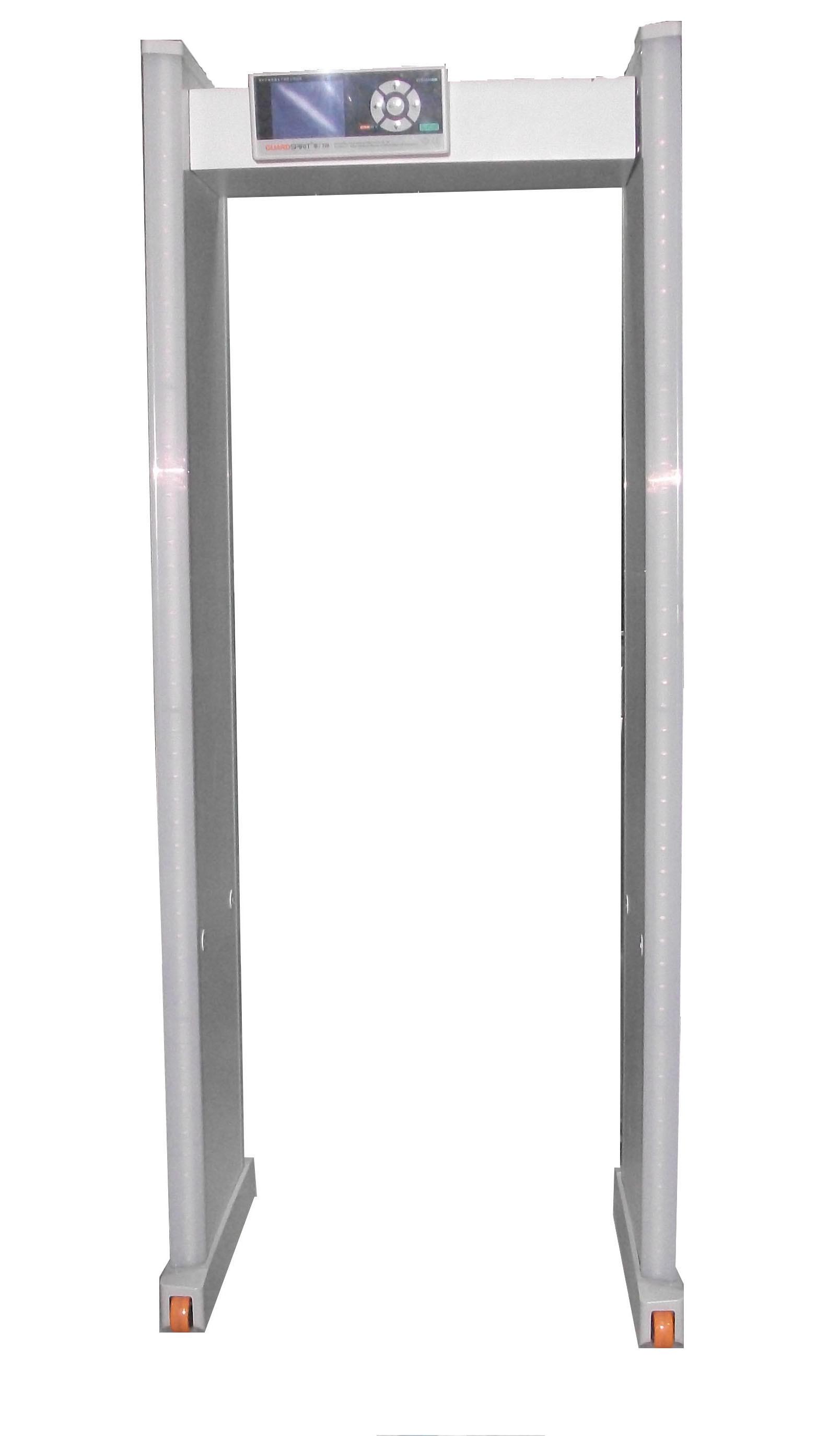 High Quality 24 Zones Walk Through Metal Detector Guardspirit Xyt2101b