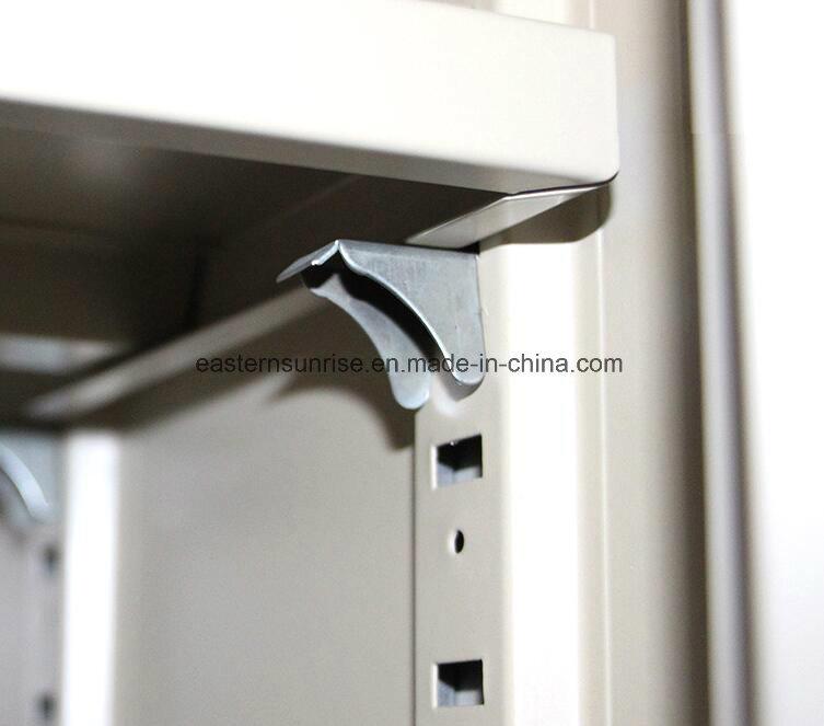 Premium Half Glass 4 Door Metal Steel Filing Cupboard/Cabinet