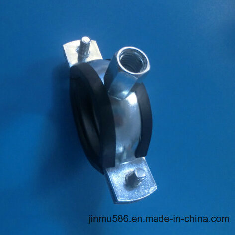 Pipe Clamp with Rubber (1′′)