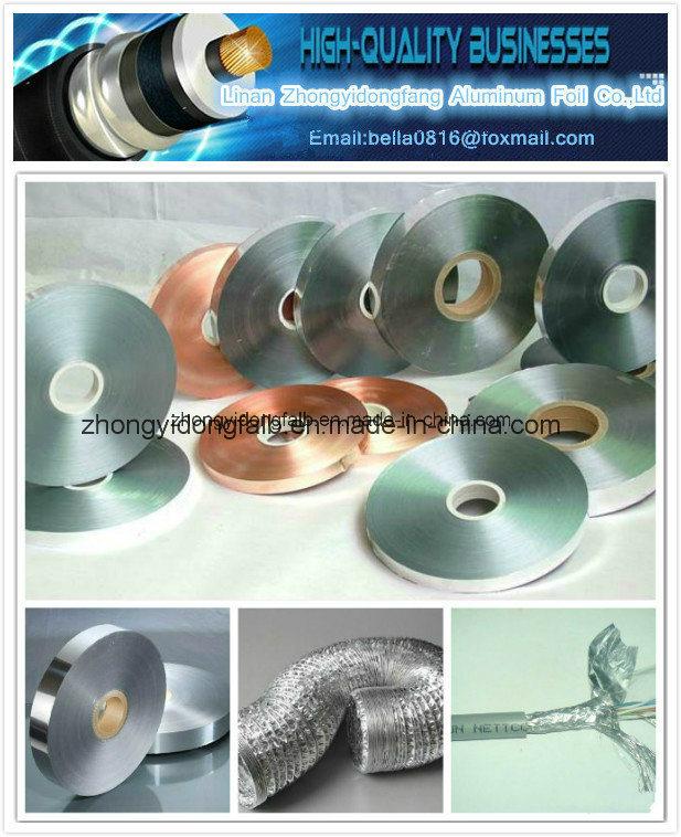 Copper Foil Laminate Polyester Film Cu/Pet Foil for Cable