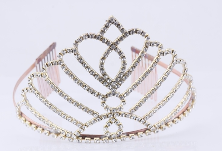 Hollywood Glamour Crown Wedding Crown Bride Tiara ABC016325