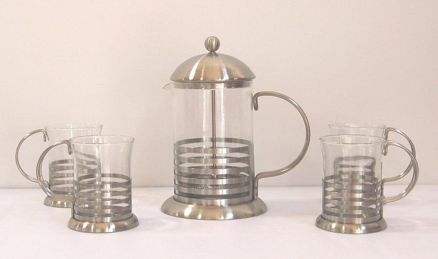 China French Press Tea & Coffee Maker Set (S73104) - China Tea set, Coffee set