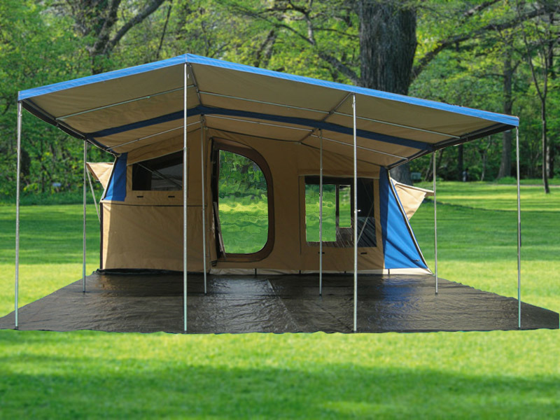 How to Fold a Tent Trailer Awning | eHow.com