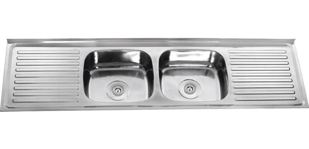 Kitchen Stainless Steel Sinks : ... Stainless Steel Sinks (DD18050) - China Kitchen Sink, Stainless Steel