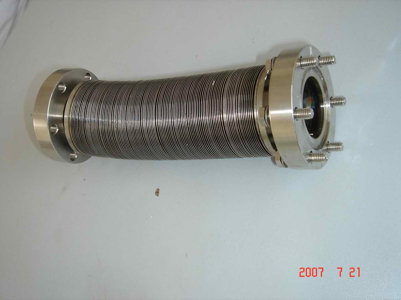China welded metal bellows