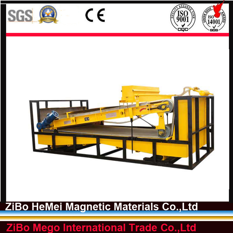 Plate-Type Magnetic Separator Wet Method for Kaolin, Feldspar, You Can Get Any Type Magnetic Separator From Us