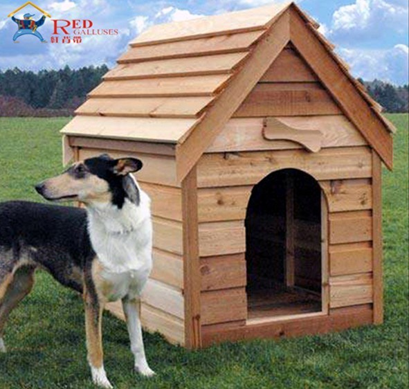Wooden dog house dywd 002 china wooden dog house pet house - How to build a dog house with pallets ...