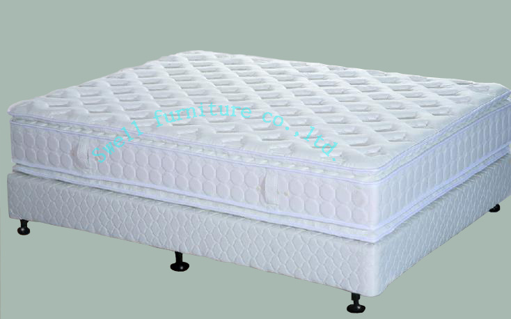 Five-Star Hotel Pillow-Top Mattress (SWH026)