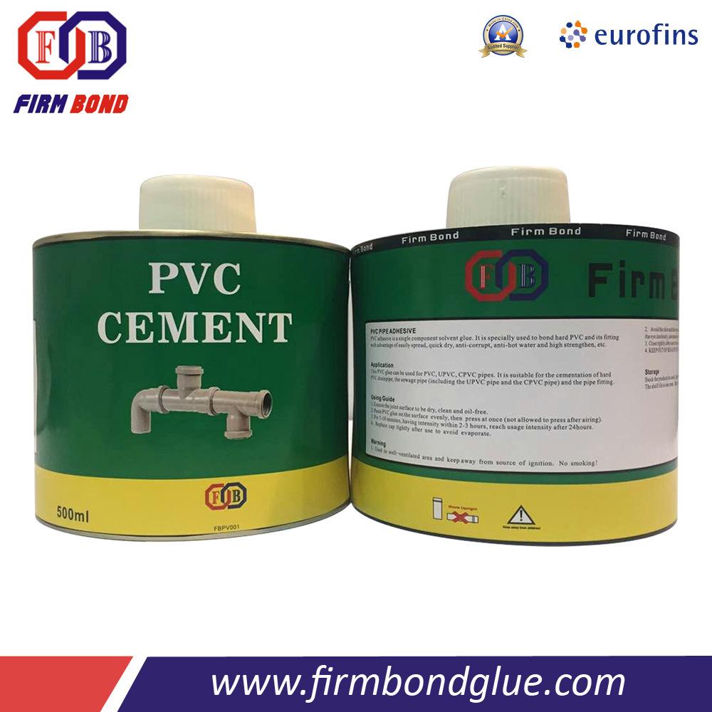 Hot Sale Fast Curing PVC Glue