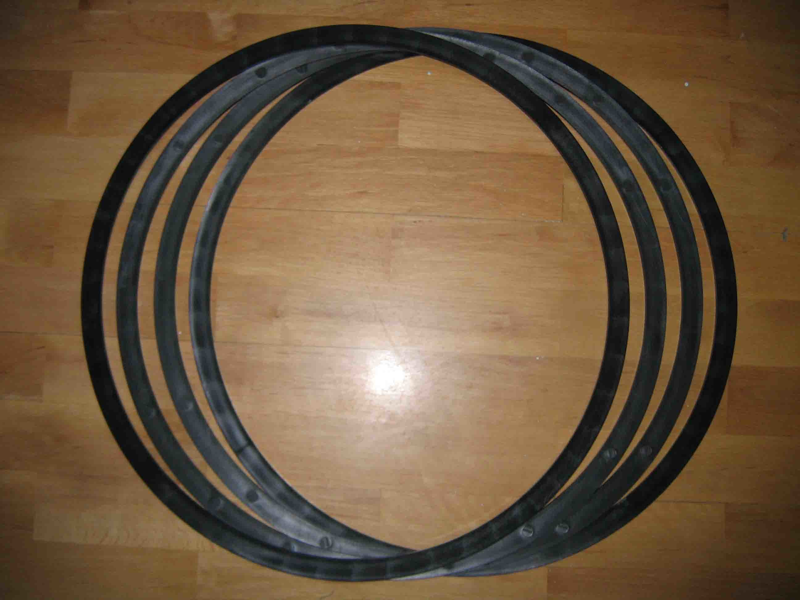 HDPE Plastic Injection Pipe Flat Washer