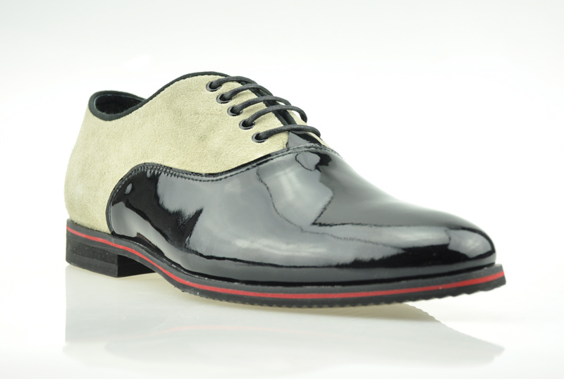 Man's Fashion Leather Shoes (MPH1007-582-5-B