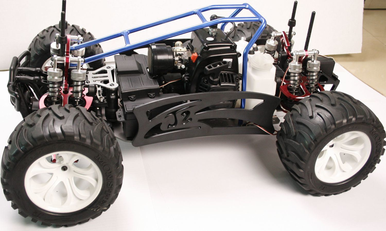 Rampage xt gasoline race car