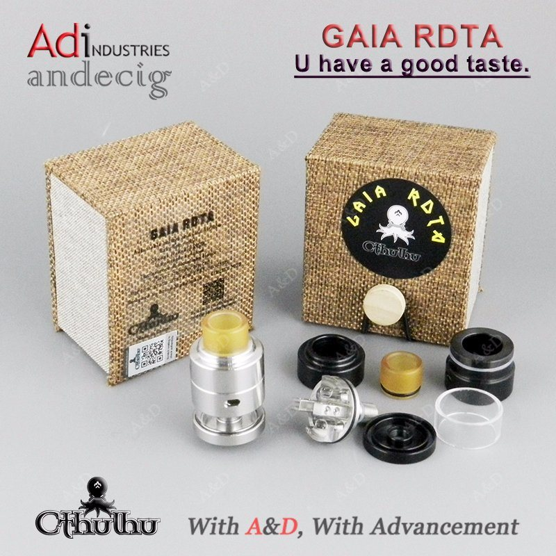 Original Cthulhu Gaia Rdta 2ml Tank